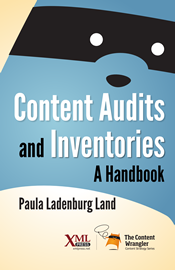 Cover boek 'Content Audits and Inventories'