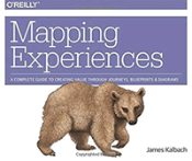 Boekomslag Mapping Experiences: A Complete Guide to Creating Value through Journeys, Blueprints, and Diagrams