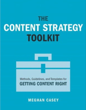 Cover The Content Strategy Tookit